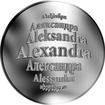 Česká jména - Alexandra - stříbrná medaile