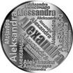Česká jména - Alexandra - velká stříbrná medaile 1 Oz