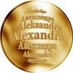 Česká jména - Alexandra - zlatá medaile