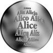 Česká jména - Alice - stříbrná medaile