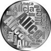 Česká jména - Alice - velká stříbrná medaile 1 Oz