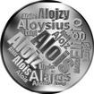 Česká jména - Alois - velká stříbrná medaile 1 Oz