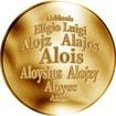 Česká jména - Alois - zlatá medaile