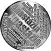 Česká jména - Anastázie - velká stříbrná medaile 1 Oz
