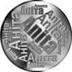 Česká jména - Anita - velká stříbrná medaile 1 Oz