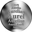 Slovenská jména - Aurel - stříbrná medaile