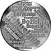 Česká jména - Bohuslava - velká stříbrná medaile 1 Oz