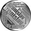 Česká jména - Bronislav - velká stříbrná medaile 1 Oz