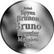 Česká jména - Bruno - velká stříbrná medaile 1 Oz