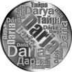 Česká jména - Darja - velká stříbrná medaile 1 Oz