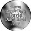 Česká jména - David - stříbrná medaile