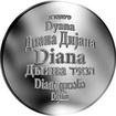 Česká jména - Diana - stříbrná medaile