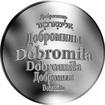 Česká jména - Dobromila - stříbrná medaile