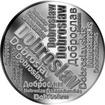 Česká jména - Dobroslav - velká stříbrná medaile 1 Oz