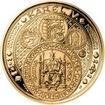 Sada zlatého dukátu a stříbrného odražku NM III. Císař a Král - proof