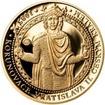 Sada zlatého dukátu a stříbrného odražku Korunovace Vratislava II. - p