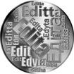 Česká jména - Edita - velká stříbrná medaile 1 Oz