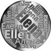 Česká jména - Elena - velká stříbrná medaile 1 Oz
