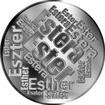 Česká jména - Ester - velká stříbrná medaile 1 Oz