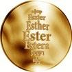Česká jména - Ester - zlatá medaile