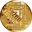 Česká jména - Evžen - velká zlatá medaile 1 Oz