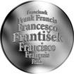 Česká jména - František - velká stříbrná medaile 1 Oz