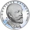 Gottlieb Daimler - 180. výročí narození stříbro proof