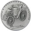 Gottlieb Daimler - 180. výročí narození stříbro patina