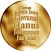 Česká jména - Hanuš - zlatá medaile