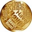 Česká jména - Havel - velká zlatá medaile 1 Oz