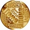 Česká jména - Ilona - velká zlatá medaile 1 Oz
