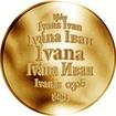 Česká jména - Ivana - zlatá medaile