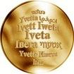 Česká jména - Iveta - zlatá medaile