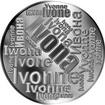 Česká jména - Ivona - velká stříbrná medaile 1 Oz
