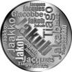 Česká jména - Jakub - velká stříbrná medaile 1 Oz