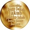 Česká jména - Jakub - zlatá medaile