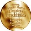 Česká jména - Jindřiška - zlatá medaile