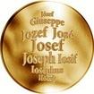 Česká jména - Josef - zlatá medaile