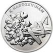 Vše nejlepší k narozeninám 50 mm stříbro b.k.