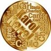 Česká jména - Karel - velká zlatá medaile 1 Oz