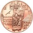 Královské hlavní město Praha - 1 Oz b.k. Měď