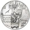 Královské hlavní město Praha - stříbro 1 Oz b.k.