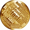Česká jména - Květoslav - velká zlatá medaile 1 Oz
