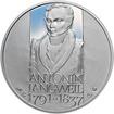 Antonín Langweil - 175. výročí úmrtí Ag proof