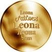 Česká jména - Leona - zlatá medaile