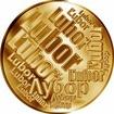 Česká jména - Lubor - velká zlatá medaile 1 Oz