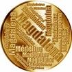 Česká jména - Magdaléna - velká zlatá medaile 1 Oz