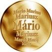 Slovenská jména - Mário - velká zlatá medaile 1 Oz