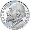 Matěj Kopecký - 240. výročí narození stříbro patina