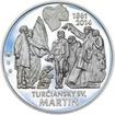 Výročie Memoranda národa slovenského - 1 Oz stříbro b.k.